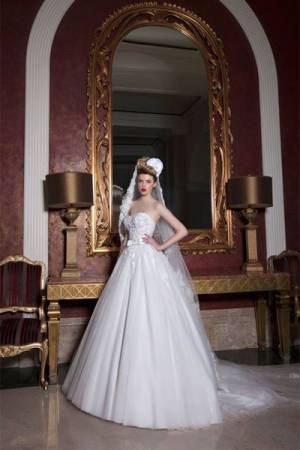 تصاميم ميراي داغر لفساتين زفاف 2015\2016