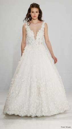 فستان زفاف طوني ورد 2017