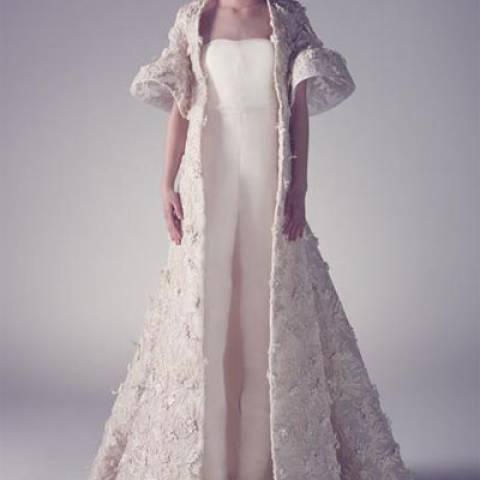فساتين زفاف محمد آشي 2015 \2016