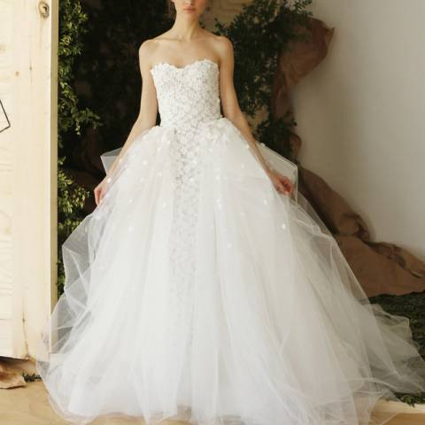 فستان زفاف 2017 كالورينا هيريرا