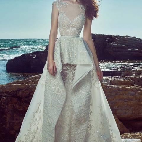 فستان زفاف زهير مراد 2017