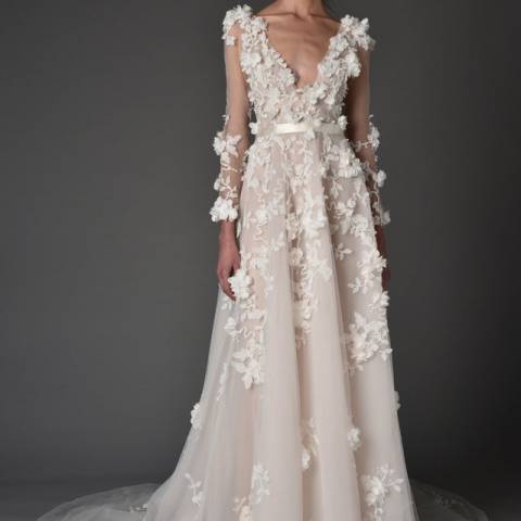 فستان زفاف 2017 ماركيزا