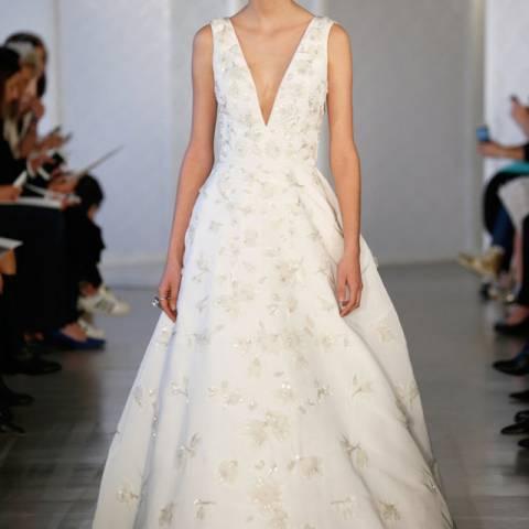 فستان زفاف 2017 أوسكار دي لارينتا