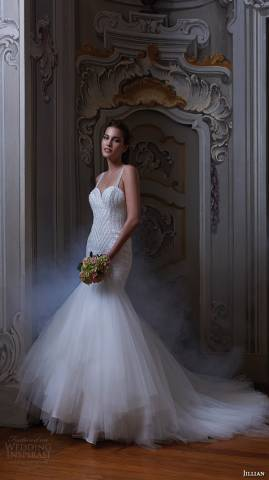 مجموعة جيليان لفساتين الزفاف لخريف وشتاء 2015\2016