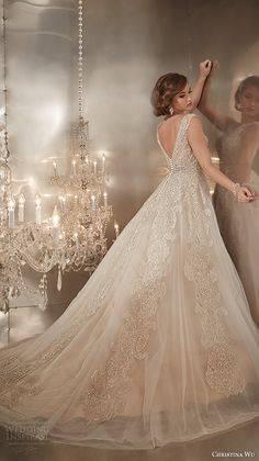 مجموعة كريستينا وو  لفساتين الزفاف لخريف وشتاء 2015\2016