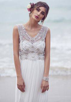 فساتين زفاف آنا كامبل لخريف وشتاء 2015\2016