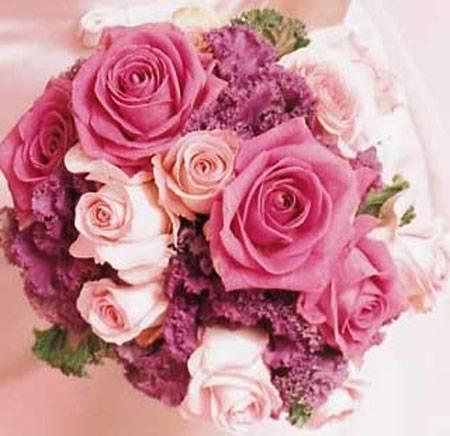 مسكة عروس 2016 بتدرجات اللون الزهري