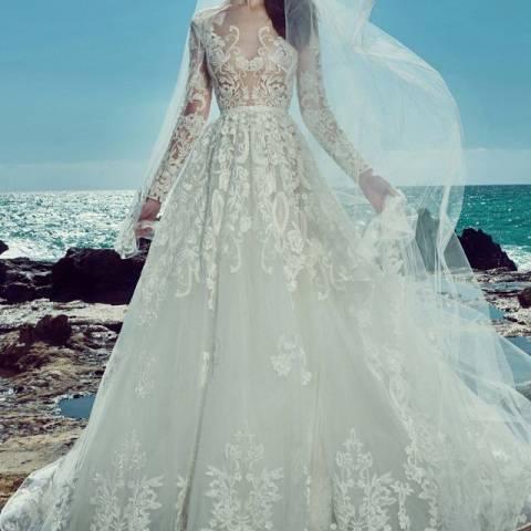 فستان زفاف 2017 زهير مراد
