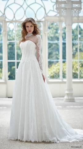مجموعة فيكتوريا إف لفساتين الزفاف 2016