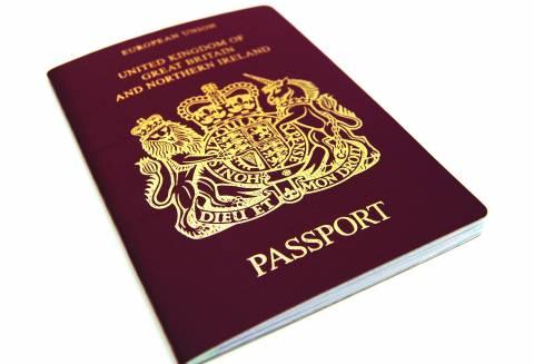جواز السفر.